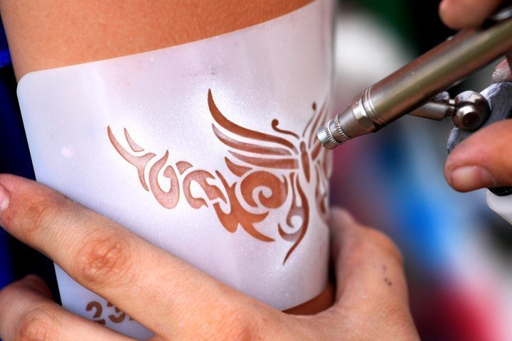 air brush tatoo