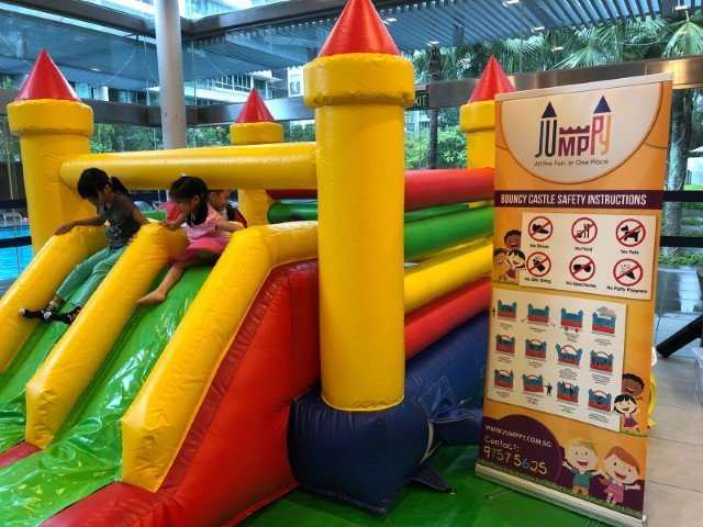 Large Sized Bouncy Castle Rental