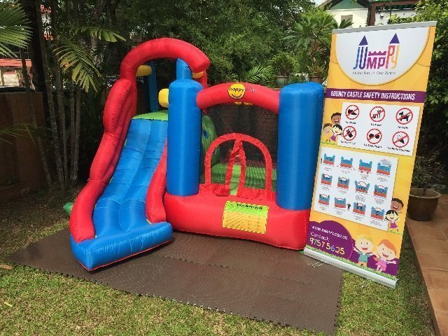6 in 1 Bouncy Castle