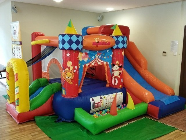 7 in 1 Adventure Bouncy Castle