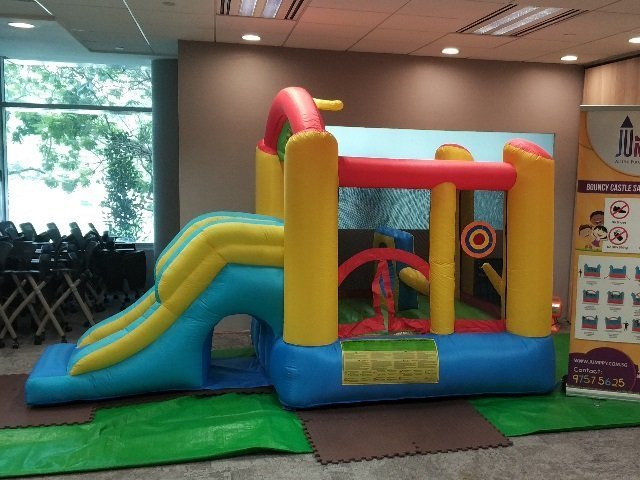 Play Zone Bouncy Castle with Slide