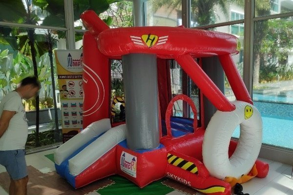 Skykids Airplane Jumping Castle