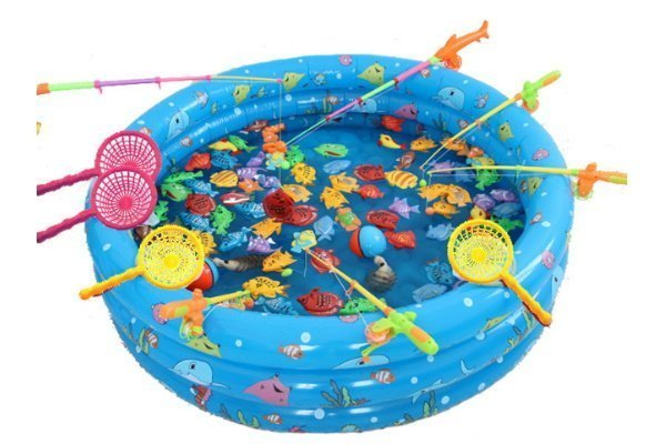 Kiddy Pool Fishing