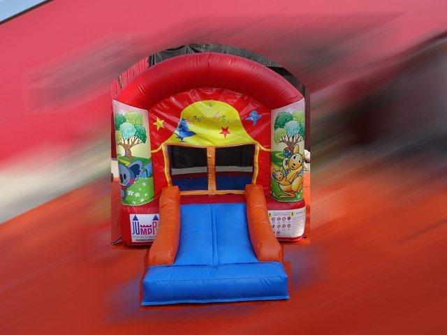 Theater Slide Bouncy Castle 1