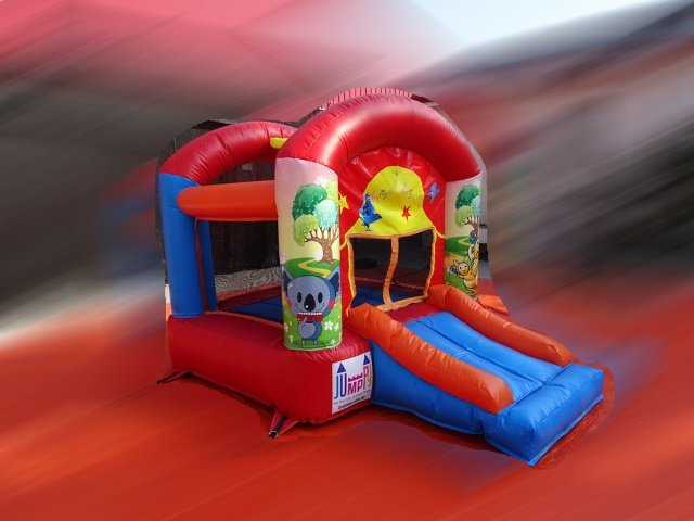 Theater Slide Bouncy Castle