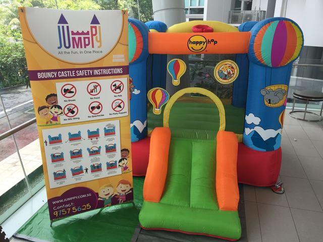Hotair-Balloon-Bouncy-Castle-Singapore